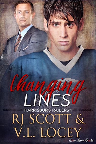 Changing Lines RJ Scott VL Locey Harrisburg Railers MM Hockey Romance