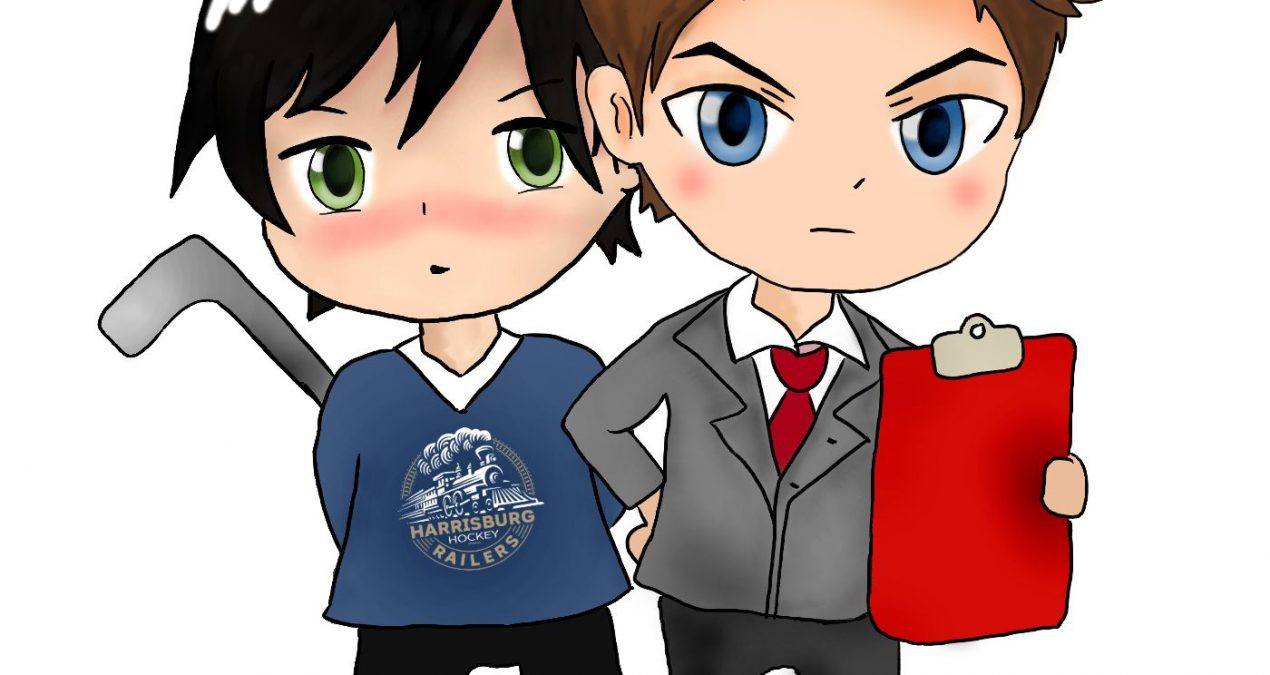 New Chibi Art for the Railers Team