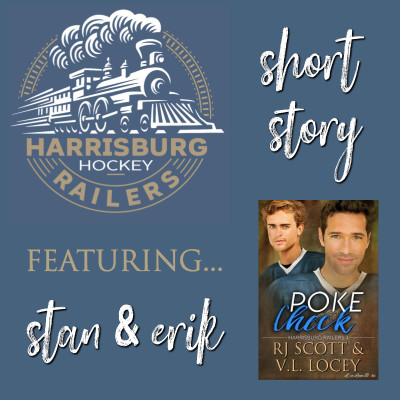 Harrisburg Railers, MM Romance, Hockey Romance, RJ Scott, V.L. Locey