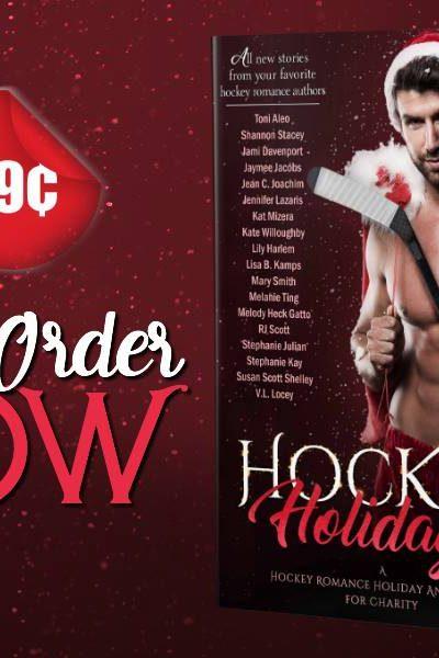 Hockey Holidays – Cover Reveal & Pre-Order