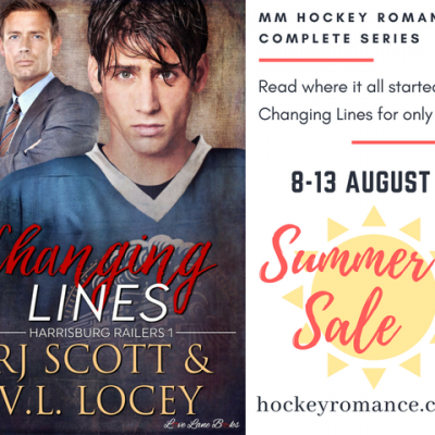 Changing Lines (Harrisburg Railers #1) – SUMMER SALE!