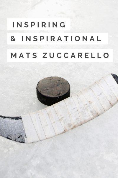 Inspiring and Inspirational – Mats Zuccarello – V.L. Locey