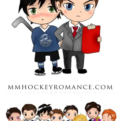 RJ Scott, VL Locey, MM Romance, Hockey Romance