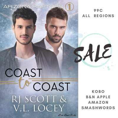 Coast to Coast (Raptors #1) SALE!